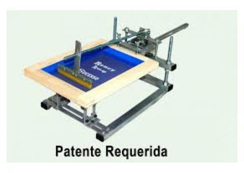Maquina de serigrafia estampa canecas copos em silk screen
