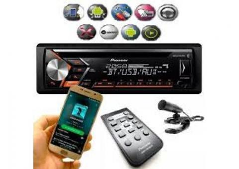 "CD player Pioneer ""top"" com Bluetooth(Lacrado)"